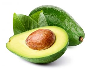 Avocado,With,Leaf,Isolated,On,White,Clipping,Path.,Professional,Food