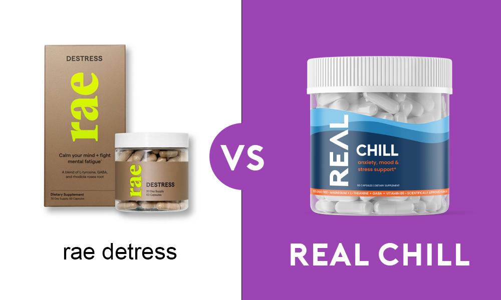 rae destress vs real chill
